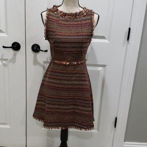 NWT fall tweed mini dress.